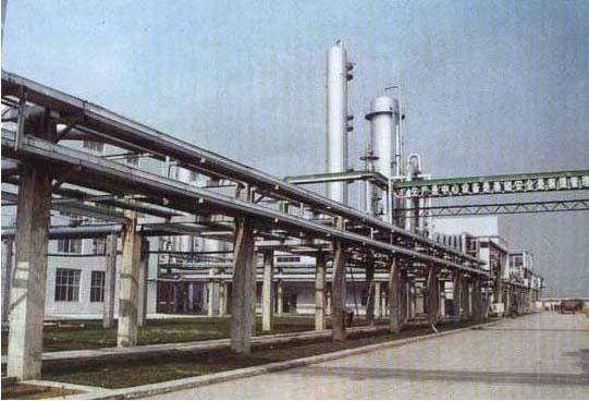 山东峄山化工集团输送管道安装工程