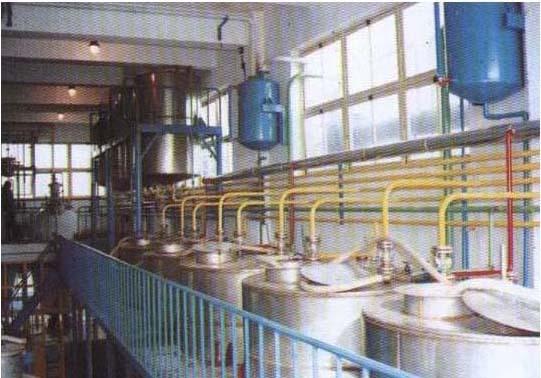 山东烟台中药厂提取车间设备安装工程