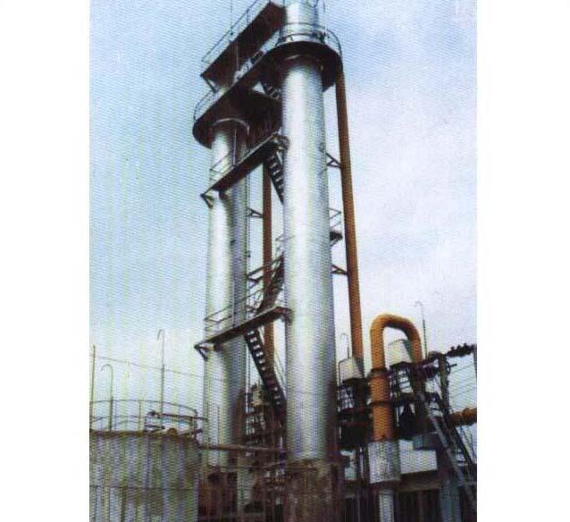 山东肥城焦化厂洗萘设备安装工程