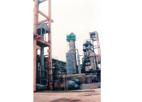 山东鲁中化工有限公司合成塔安装工程